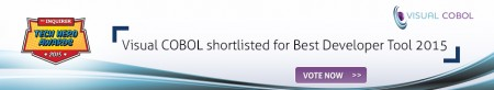 Visual COBOL shortlisted for Best Developer Tool 2015
