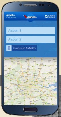 Create your own mobile service with our AirMiles Calculator demo