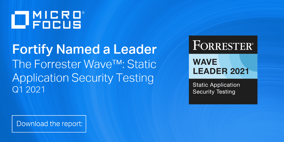 Fortify named a Leader